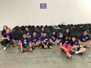 FGT warehouse volunteering service group