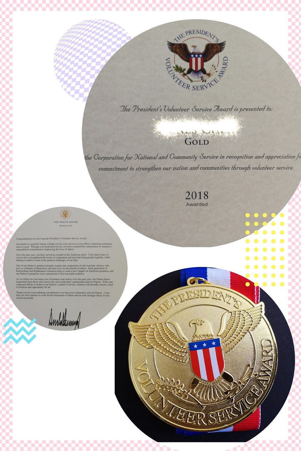 The President`s Volunteer Service Award