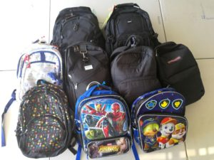 GATA Backpack Donations