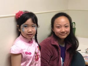 Fremont Library Face Painting